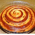 Пирог «Спираль»
